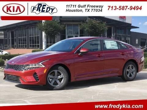 2021 Kia K5 for sale at FREDY KIA USED CARS in Houston TX