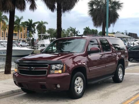 2009 Chevrolet Suburban for sale at L G AUTO SALES in Boynton Beach FL