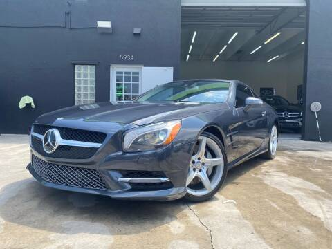 2013 Mercedes-Benz SL-Class for sale at GCR MOTORSPORTS in Hollywood FL