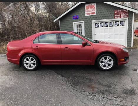 2012 Ford Fusion for sale at KMK Motors in Latham NY