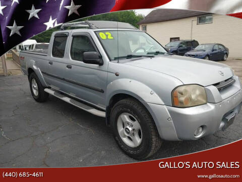 2002 Nissan Frontier for sale at Gallo's Auto Sales in North Bloomfield OH