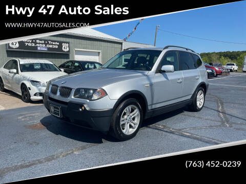 2005 BMW X3 for sale at Hwy 47 Auto Sales in Saint Francis MN