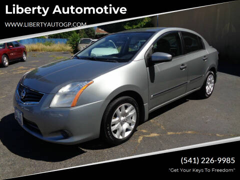 2012 Nissan Sentra for sale at Liberty Automotive in Grants Pass OR