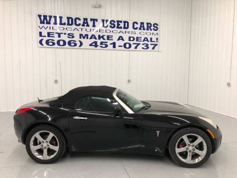 2006 Pontiac Solstice for sale at Wildcat Used Cars in Somerset KY
