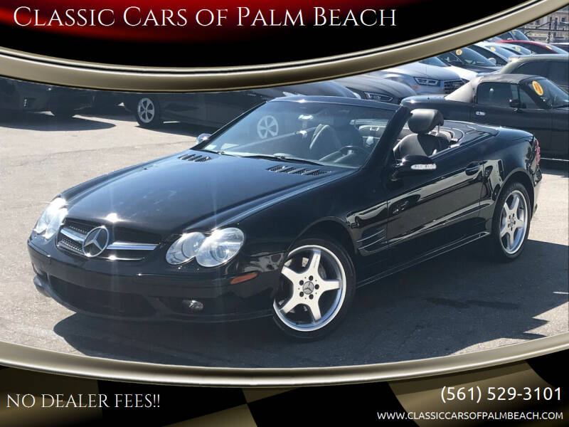 2003 Mercedes-Benz SL-Class for sale at Classic Cars of Palm Beach in Jupiter FL