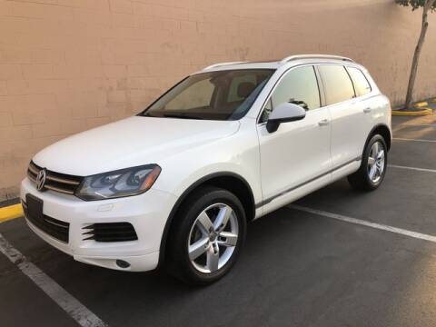 2011 Volkswagen Touareg for sale at AUTOLOGIC in San Diego CA