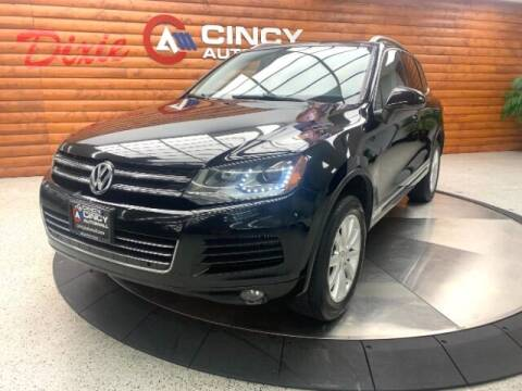 2011 Volkswagen Touareg for sale at Dixie Motors in Fairfield OH