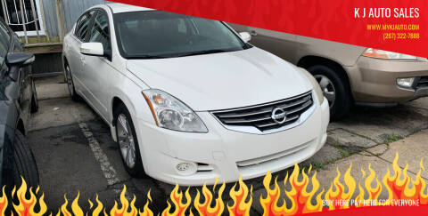 2011 Nissan Altima for sale at K J AUTO SALES in Philadelphia PA