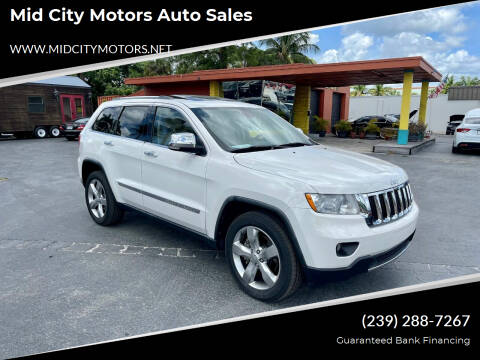 2011 Jeep Grand Cherokee for sale at Mid City Motors Auto Sales in Fort Myers FL