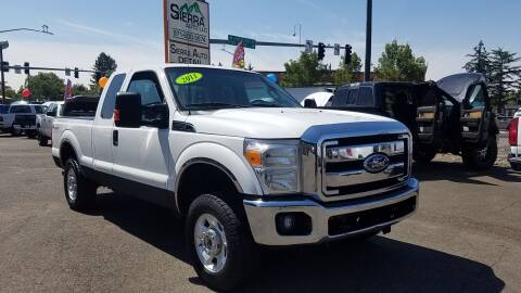 2011 Ford F-250 Super Duty for sale at SIERRA AUTO LLC in Salem OR