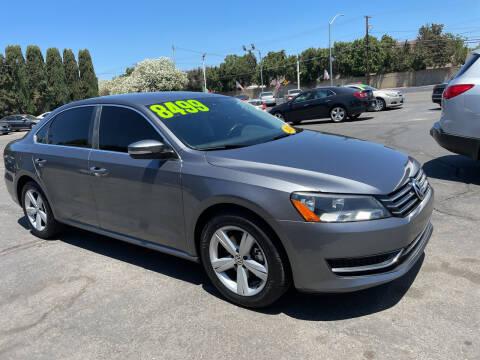 2013 Volkswagen Passat for sale at Blue Diamond Auto Sales in Ceres CA