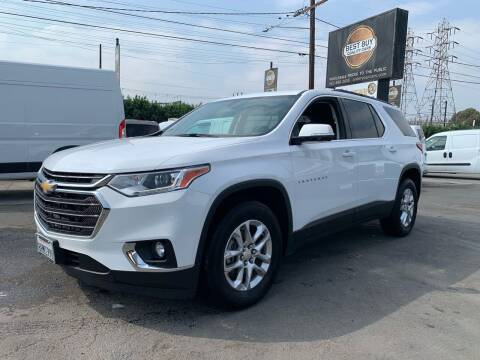2019 Chevrolet Traverse for sale at Best Buy Quality Cars in Bellflower CA