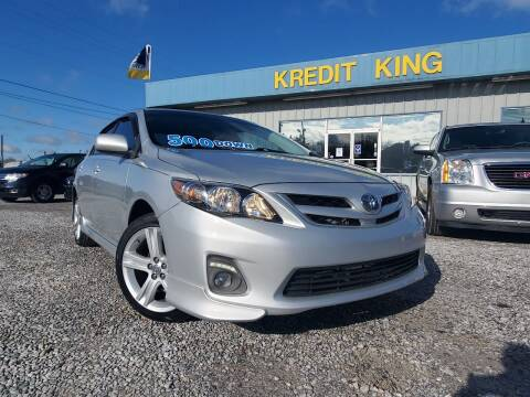2013 Toyota Corolla for sale at Kredit King Autos in Montgomery AL