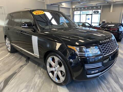 2017 Land Rover Range Rover for sale at Crossroads Car & Truck in Milford OH