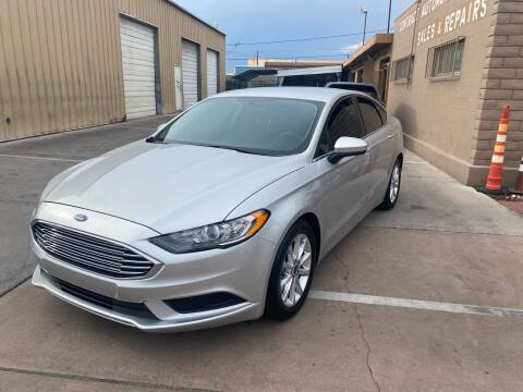 2017 Ford Fusion for sale at CONTRACT AUTOMOTIVE in Las Vegas NV