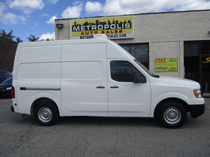 2018 Nissan NV Cargo for sale at Metropolis Auto Sales in Pelham NH