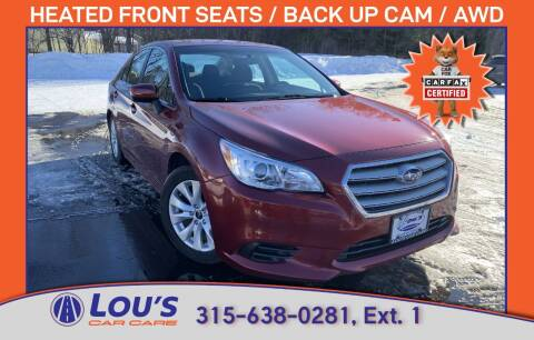2017 Subaru Legacy for sale at LOU'S CAR CARE CENTER in Baldwinsville NY
