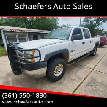 2003 Chevrolet Silverado 2500HD for sale at Schaefers Auto Sales in Victoria TX