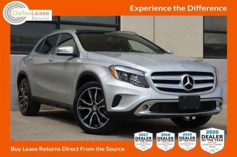 2016 Mercedes-Benz GLA for sale at Dallas Auto Finance in Dallas TX