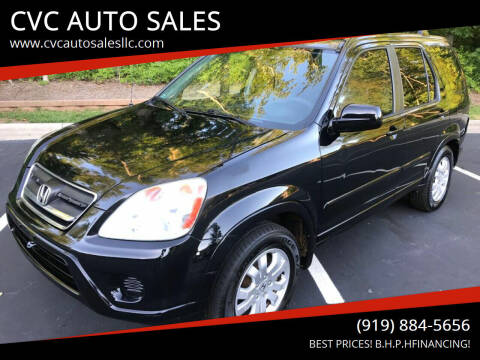 2005 Honda CR-V for sale at CVC AUTO SALES in Durham NC