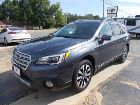 2017 Subaru Outback for sale at High Country Motors in Mountain Home AR