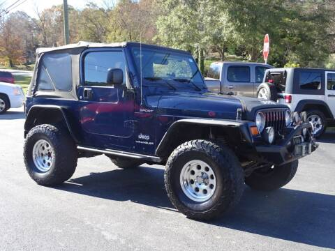 2006 Jeep Wrangler for sale at Luxury Auto Innovations in Flowery Branch GA