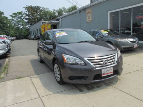 2014 Nissan Sentra for sale at Omega Auto & Truck Center, Inc. in Salem MA