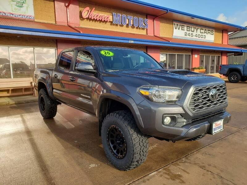 2020 Toyota Tacoma for sale at Ohana Motors in Lihue HI