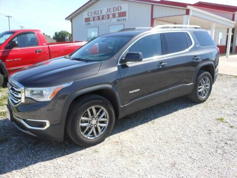 2017 GMC Acadia for sale at JUDD MOTORS INC in Lancaster MO