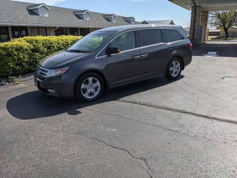 2012 Honda Odyssey for sale at Clarks Auto Sales in Connersville IN