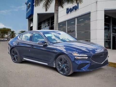2022 Genesis G70 for sale at DORAL HYUNDAI in Doral FL