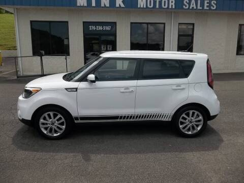 2019 Kia Soul for sale at MINK MOTOR SALES INC in Galax VA