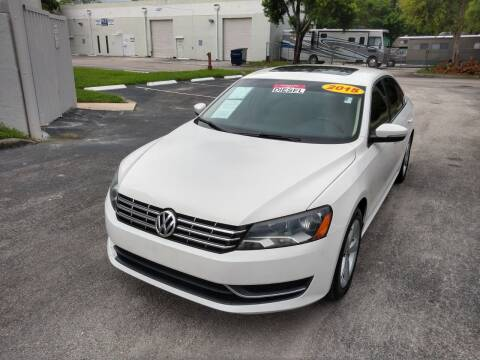 2015 Volkswagen Passat for sale at Best Price Car Dealer in Hallandale Beach FL