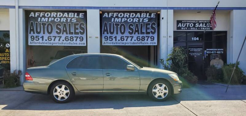 2005 Lexus LS 430 for sale at Affordable Imports Auto Sales in Murrieta CA