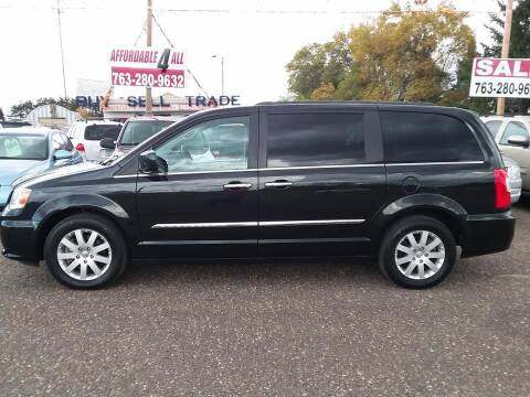 2015 Chrysler Town and Country for sale at Affordable 4 All Auto Sales in Elk River MN