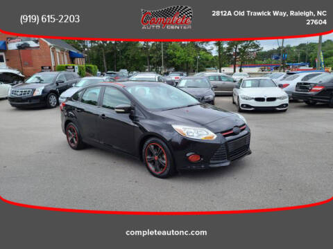 2014 Ford Focus for sale at Complete Auto Center , Inc in Raleigh NC