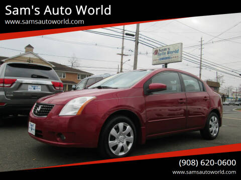 2009 Nissan Sentra for sale at Sam's Auto World in Roselle NJ