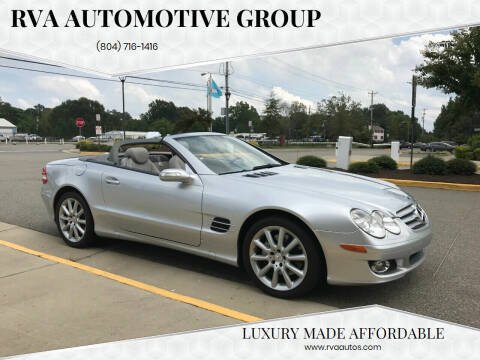 2007 Mercedes-Benz SL-Class for sale at RVA Automotive Group in North Chesterfield VA