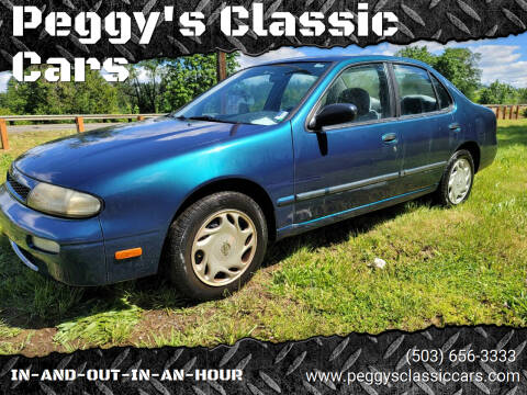 1997 Nissan Altima for sale at Peggy's Classic Cars in Oregon City OR