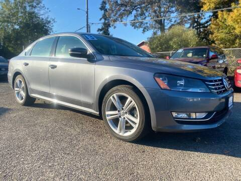 2013 Volkswagen Passat for sale at Universal Auto INC in Salem OR