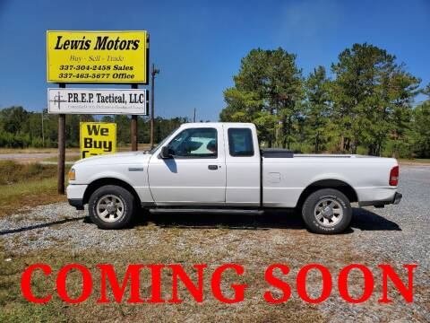 2010 Ford Ranger for sale at Lewis Motors LLC in Deridder LA