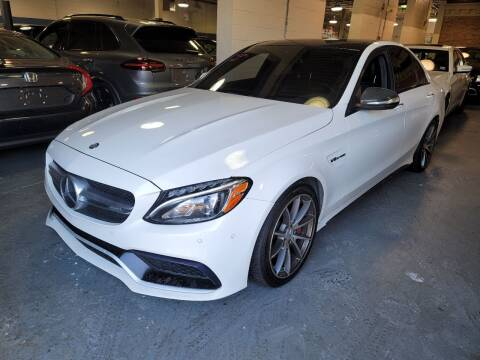 2015 Mercedes-Benz C-Class for sale at AW Auto & Truck Wholesalers  Inc. in Hasbrouck Heights NJ
