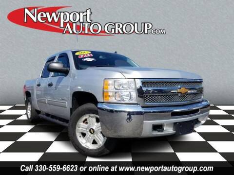2013 Chevrolet Silverado 1500 for sale at Newport Auto Group in Austintown OH