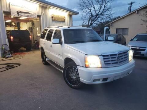2003 Cadillac Escalade for sale at Bad Credit Call Fadi in Dallas TX