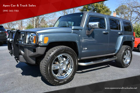 2007 HUMMER H3 for sale at Apex Car & Truck Sales in Apex NC