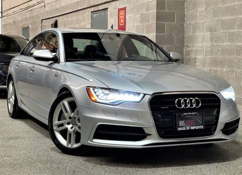 2015 Audi A6 for sale at Haus of Imports in Lemont IL