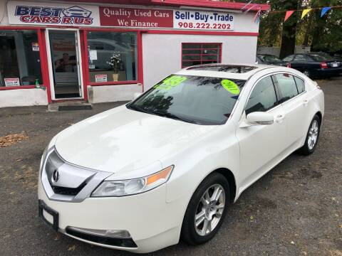 2011 Acura TL for sale at Best Cars R Us in Plainfield NJ