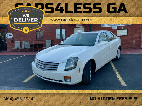 2006 Cadillac CTS for sale at Cars4Less GA in Alpharetta GA
