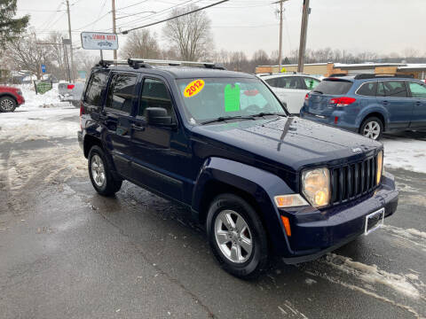 2012 Jeep Liberty for sale at JERRY SIMON AUTO SALES in Cambridge NY