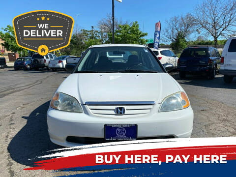 2001 Honda Civic for sale at E H Motors LLC in Milwaukee WI